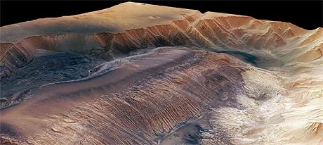 Stigle 3D snimke velikog kanjona na Marsu