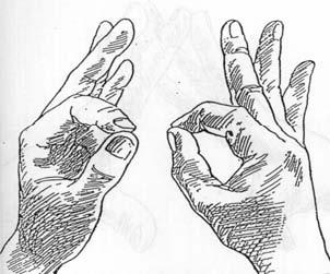 MUDRE - joga položaji za ruke