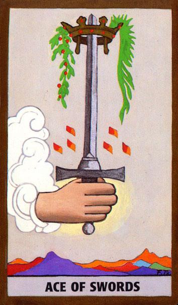 TAROT - RAZINE SVIJESTI - as mačeva