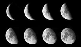 Mjesečeve mijene - svibanj