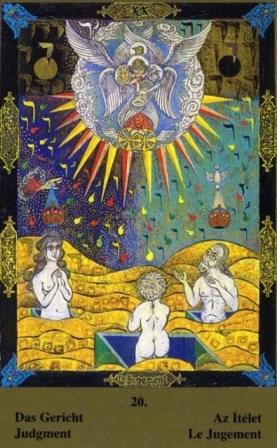 Dnevna karta tarota - SUD