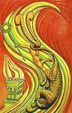 TAROT - RAZINE SVIJESTI - princeza štapova