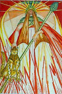 TAROT - RAZINE SVIJESTI - kraljica štapova