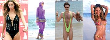 Deset najluđih kupaćih kostima