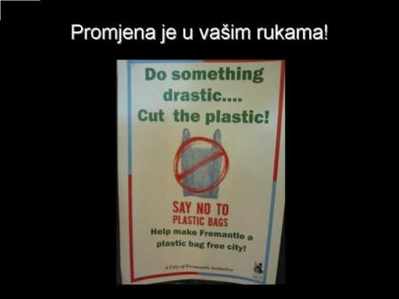 NE plastičnim vrećicama