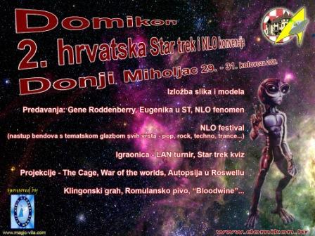 2. hrvatska Star trek i NLO konvencija