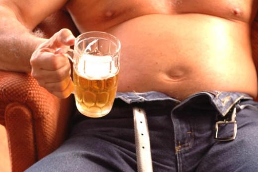Za veliki trbuh nije krivo pivo!