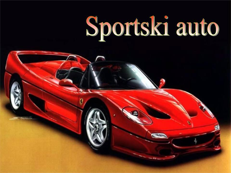 Sportski auto, vjeronauk i biblija