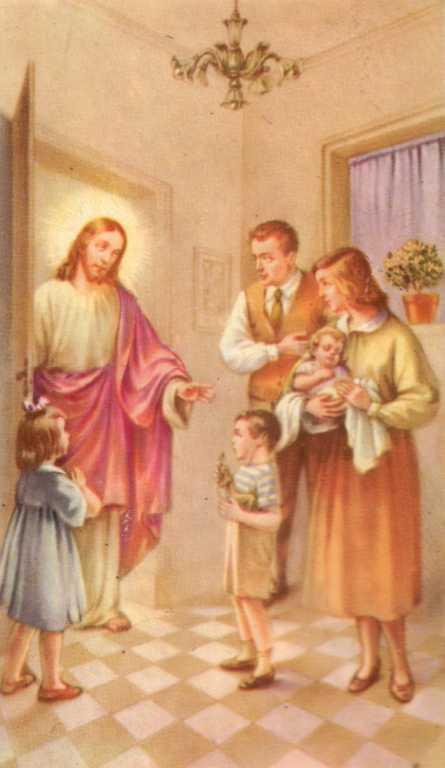 ISUS U OBITELJI SA DJECOM