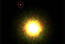 Prvi put snimljen planet kraj zvijezde slične Suncu?