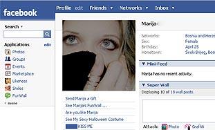 Profili na Facebooku otkrivaju narcisoidnost korisnika