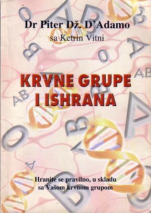 KRVNE GRUPE I ISHRANA -ukratko