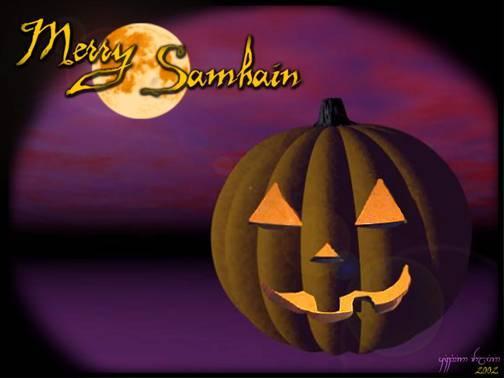 Samhain, 31. listopada - početak vještičje godine