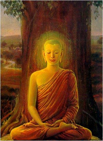 Buddha - meditacija