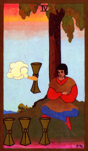 Tarot - IV. PEHARA