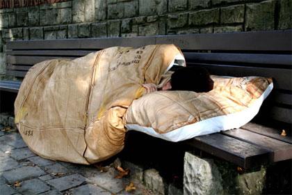 Spavajte kao klošar – pomozite beskućnicima!
