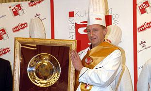 Kuhar godine - Marijan Ivanuša iz Varaždina