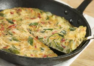Gdje ima jaja, tu je i slasna fritaja od povrća ili pašte