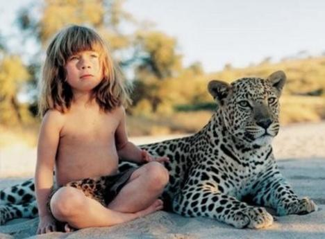Tippi provela djetinjstvo s divljim životinjama