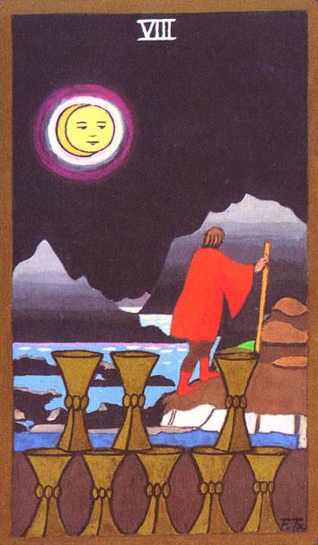 Tarot - VIII. OSMICA PEHARA