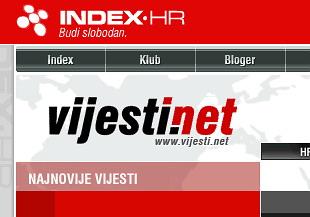 Hakeri srušili portal Index.hr ....