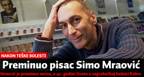 Umro pisac Simo Mraović