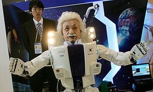 Robotski Einstein korak bliže filmskoj budućnosti