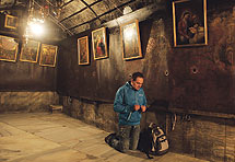 Kroz labirint zidova i žica do isusovih jaslica