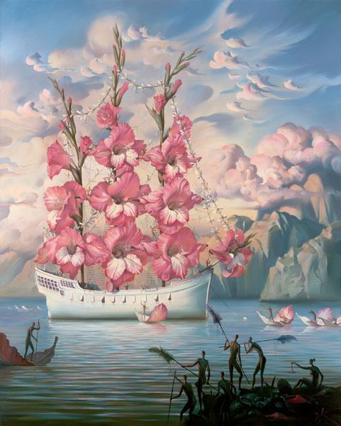 Jedrenjak od cvijeća - za Vajrana