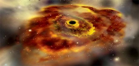 Crne rupe nastale su prije galaksija