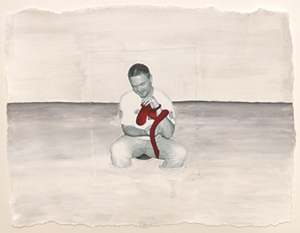 Portret skrivenog