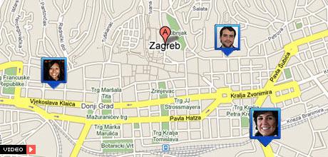 Držite partnera na oku uz - Google Latitude