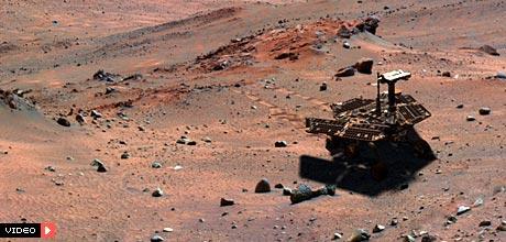 Google Mars - prošećite površinom Crvenog planeta