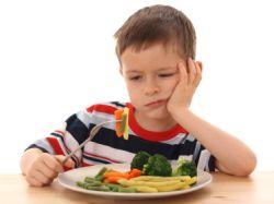 Neće jesti povrće