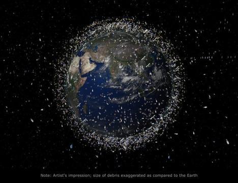 Svemirski otpad je nova ozbiljna prijetnja