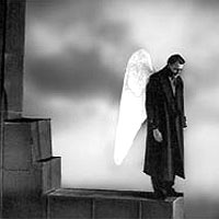 Wings of desire, anđeo