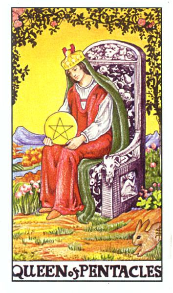Tarot - KRALJICA NOVČIĆA