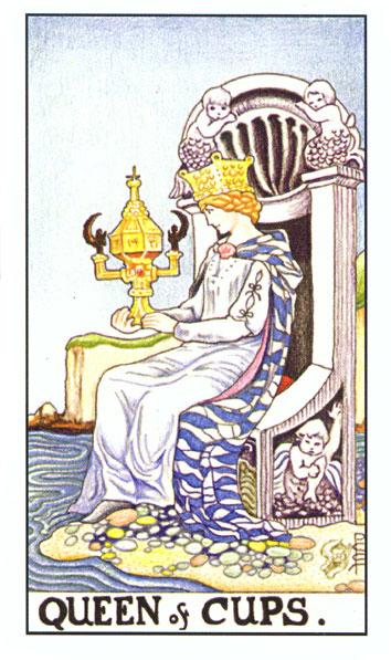 Tarot - KRALJICA PEHARA