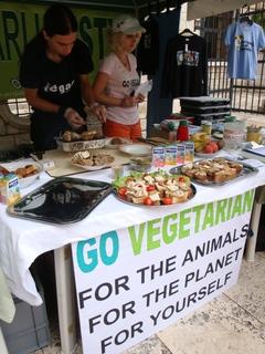 I turisti su vegetarijanci