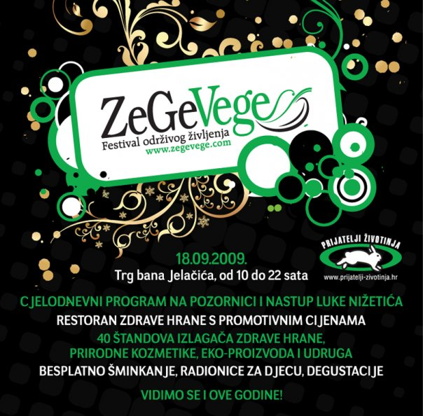ZeGeVege Festival 18.09.