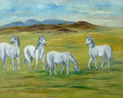 Bijeli konji
