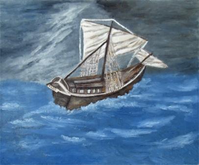 Brodica u oluji