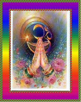 NAMASKAR - Čin sklapanja ruku u molitvi