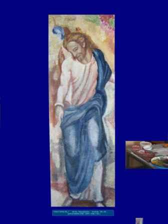 CIKLUS SAKRALNE UMJETNOSTI freskoslikarstvo - Krist
