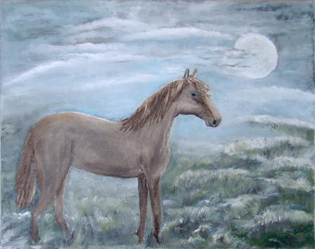 Konj na mjesečini