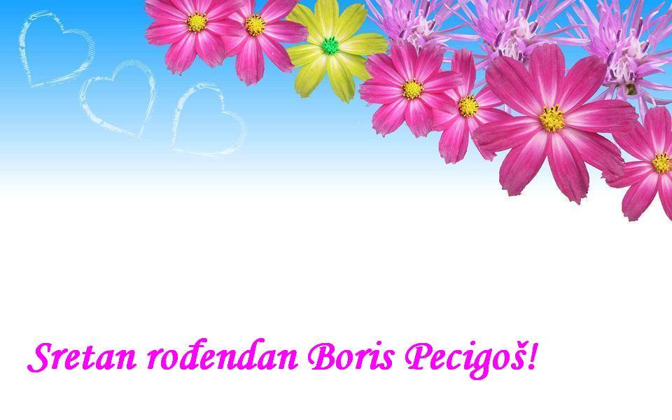 Sretan rođendan Boris Pecigoš!