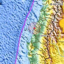 Čile ...potres 8,8 8,8 stupnjeva po Richteru ...