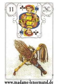 Značenja karata - Bič, štap
