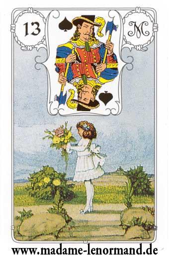 Lenormand karte - Dijete/Dečko pik