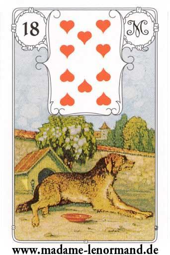 Značenja karata - Pas
